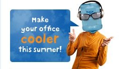 Make your home and office cooler this summer!