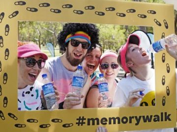 Aussie Natural Spring Water was a proud sponsor of the 2015 Perth Memory Walk