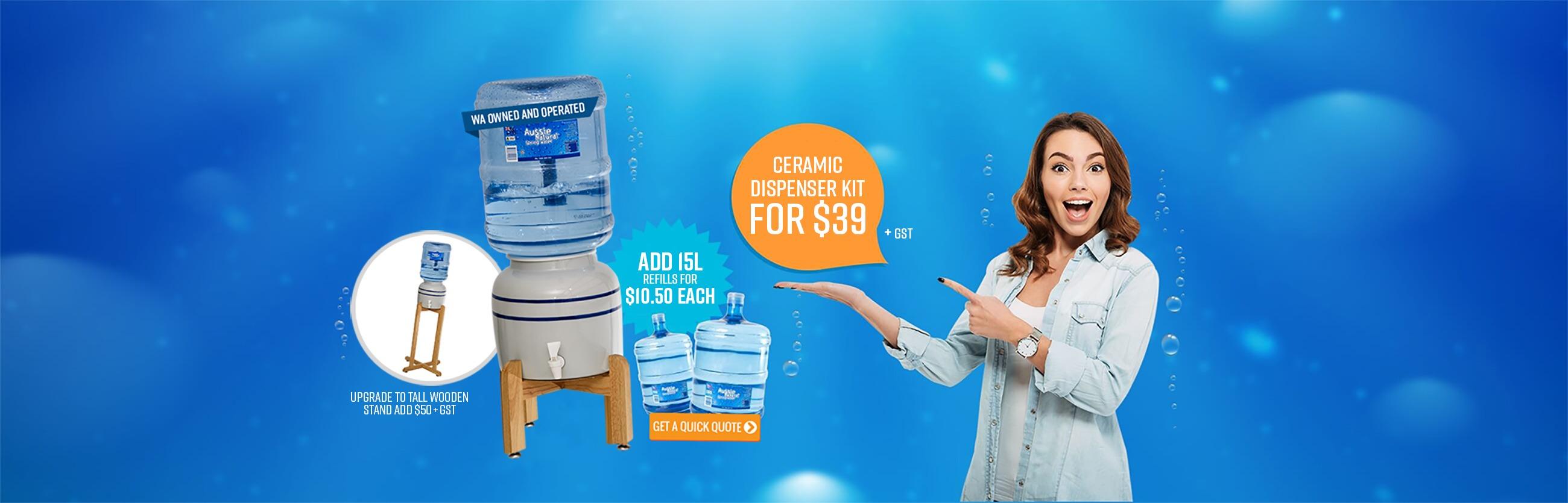 Ceramic Dispenser Kit Offer