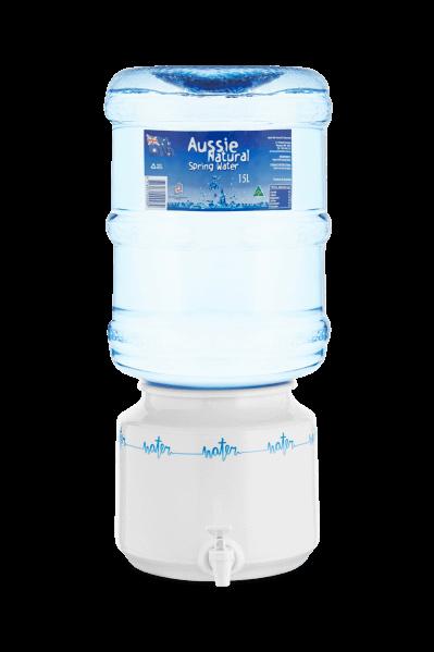 ceramic dispenser with bottle