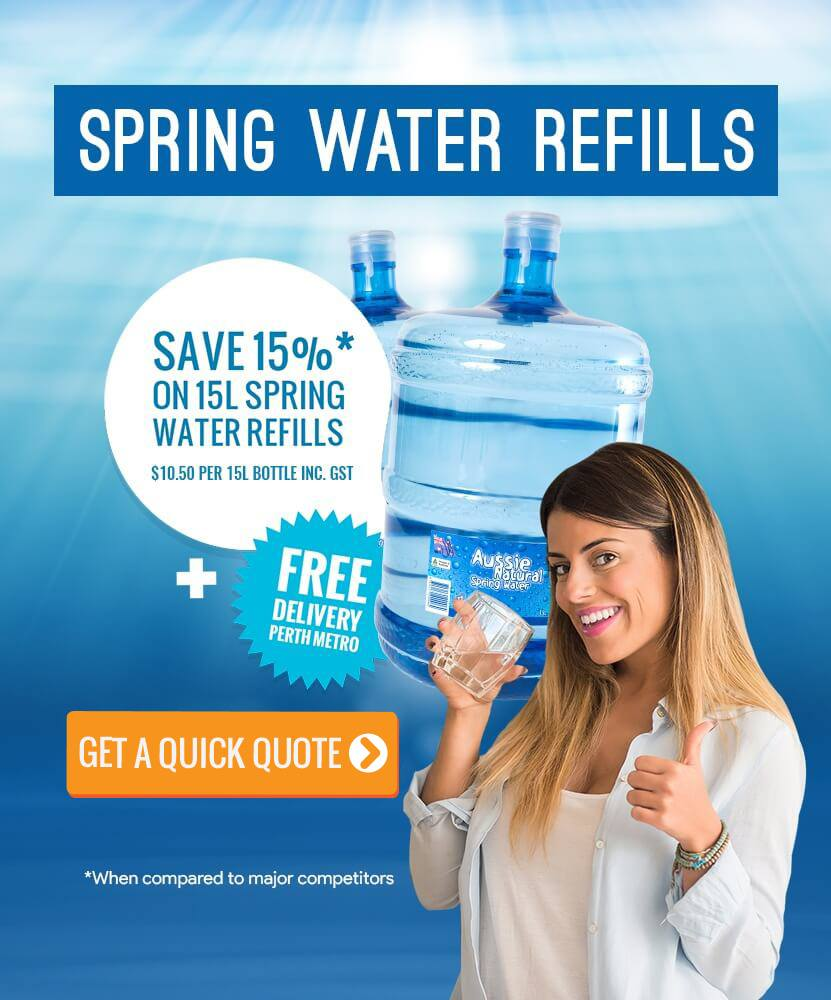 Spring Water Refills Delivery