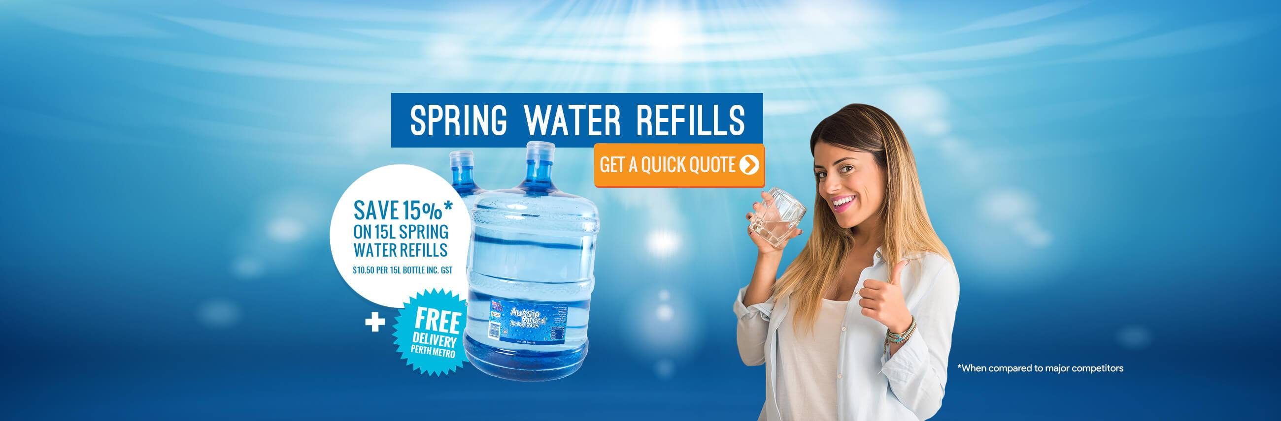 Spring Water Refills - Aussie Natural
