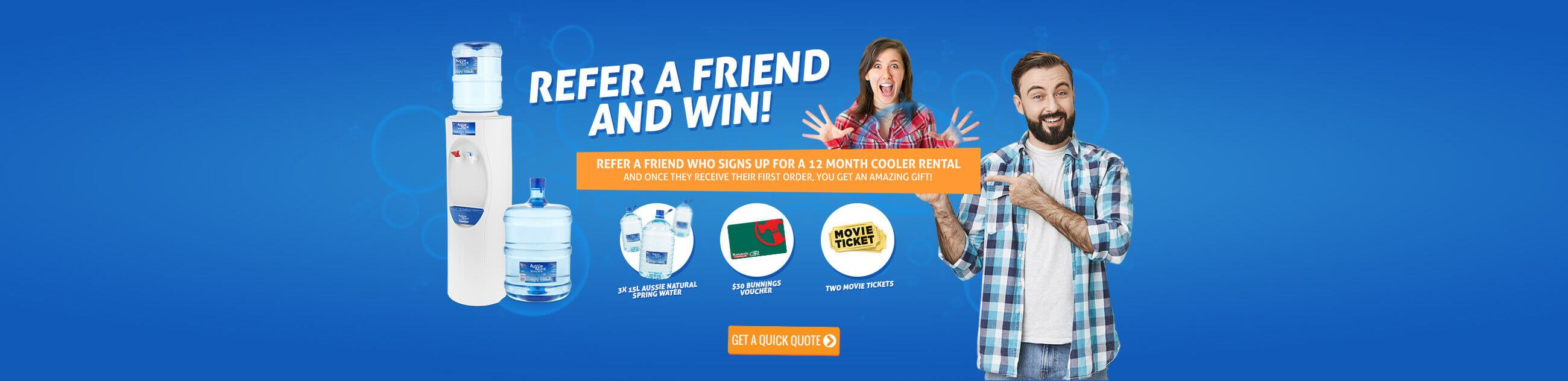 Refer a Friend Offers - Aussie Natural