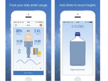 2 Apps That Track & Remind You To Drink Enough Water