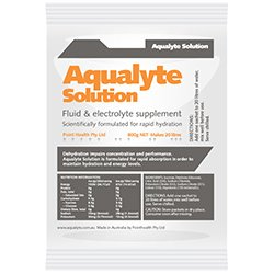 Aqualyte 800g orange