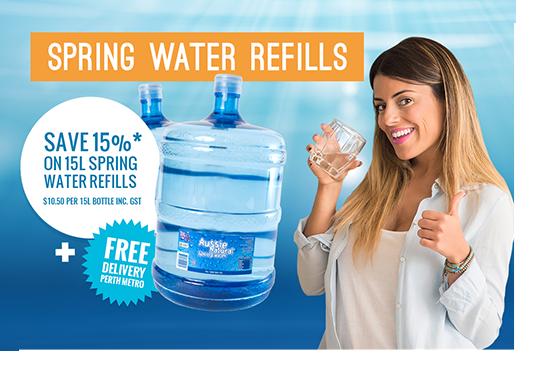 Spring Water Refills