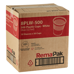 500 Pack of Plastic Cups for Water Coolers