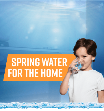Spring Water Home Mobile Banner - Aussie Natural