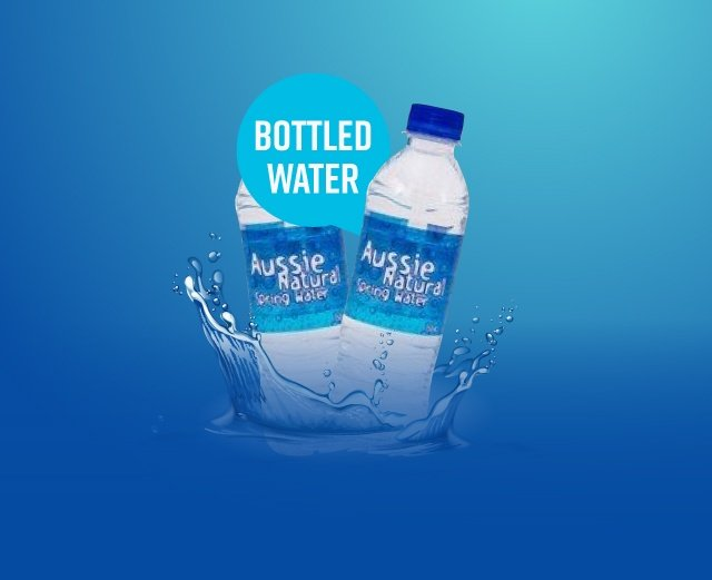Bottled Water - Aussie Natural