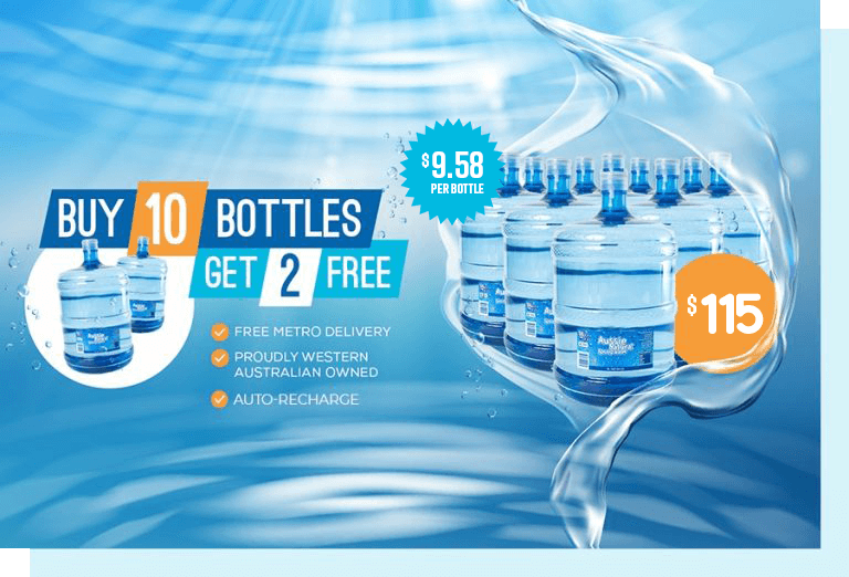 latest offer on drinking water bottles